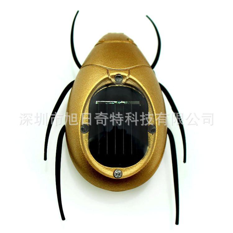 太阳能金龟子昆虫玩具 益智动手 新奇特创意礼品