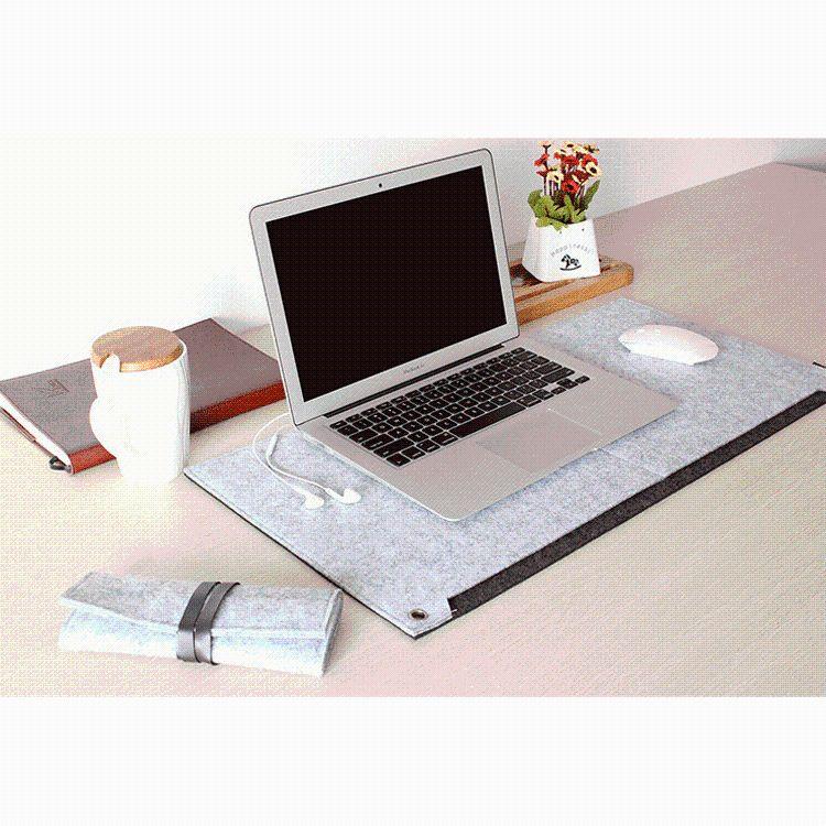 厂家直销 热销时尚毛毡电脑桌垫 鼠标垫 笔记本平板电脑桌垫
