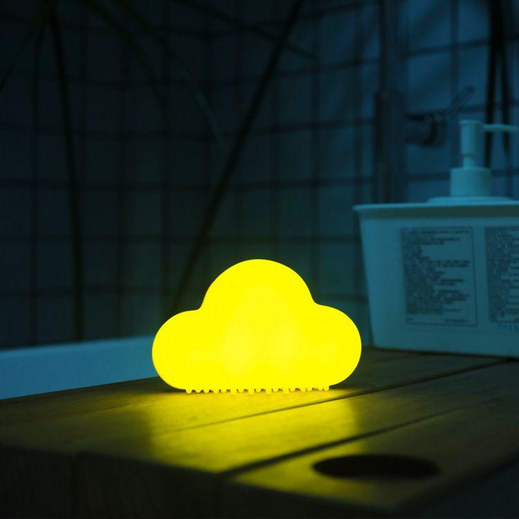 MUID觅逗 云朵灯 创意USB可充电小夜灯喂奶灯光声控灯 可磁吸墙面