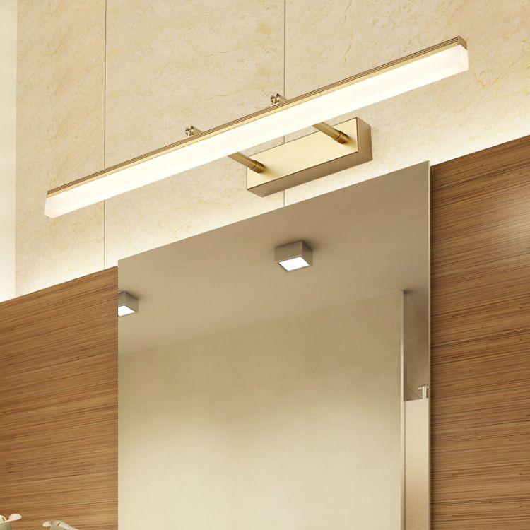 镜前灯led卫生间浴室北欧镜柜专用灯防水壁灯镜灯现代室内灯具