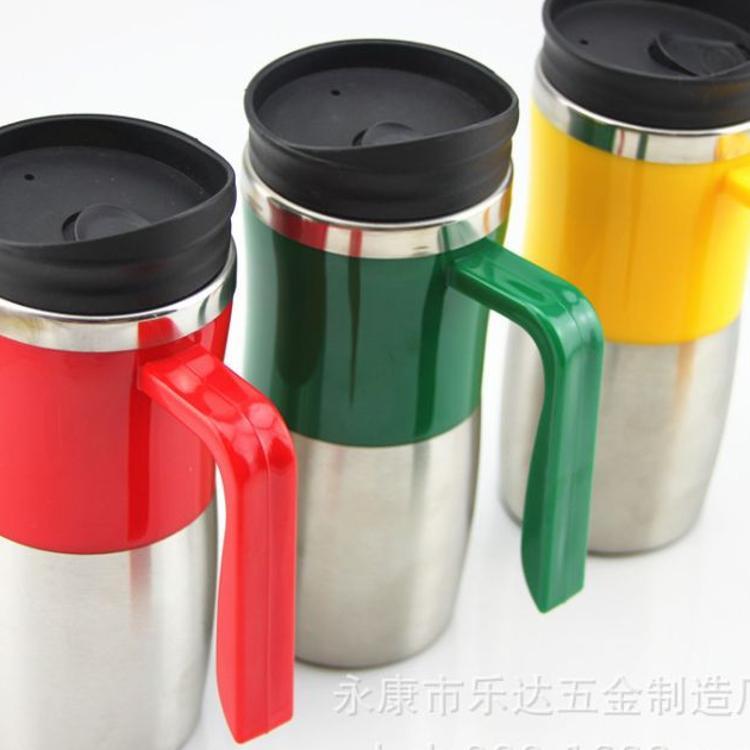 厂家直销 双层结构印字广告杯 出品外销塑料杯 定制水杯女士杯997