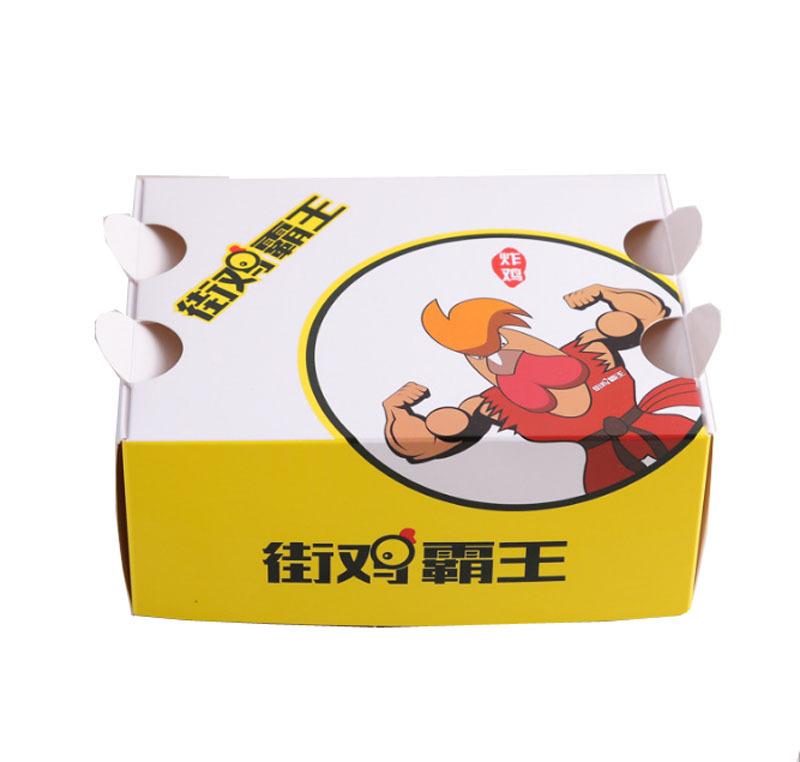 厂家定制批发水果沙拉打包盒 一次性炸鸡外卖包装盒 免费设计