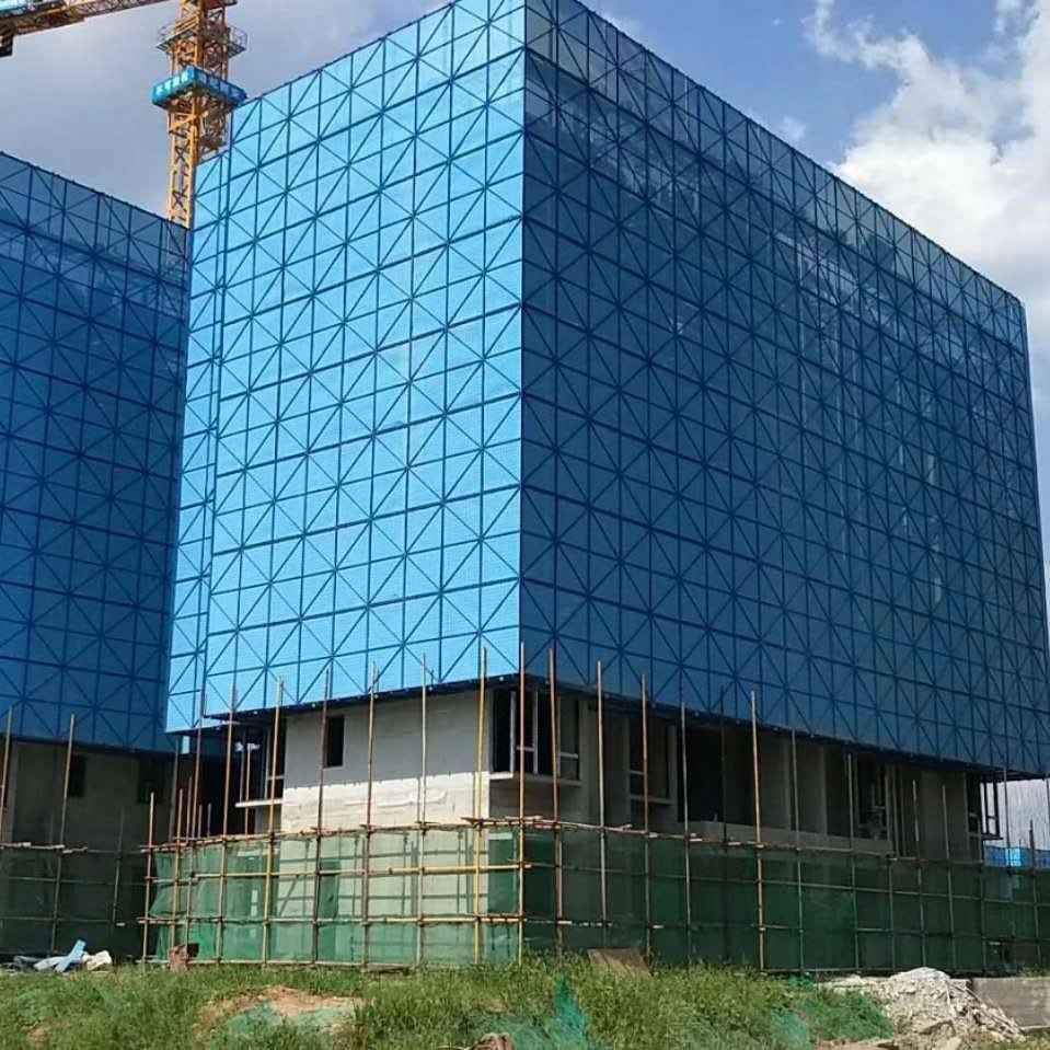 安徽省建筑工地爬架网  安全防护生产厂家