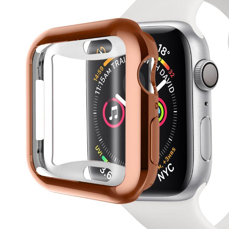 适用于苹果手表iwatch 4代手表防摔电镀保护壳apple watch4保护套
