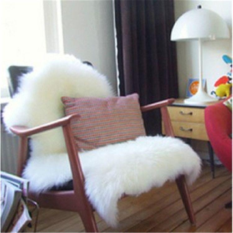 一件代发纯羊毛沙发坐垫批发客厅羊皮地垫毯子座垫沙发垫羊毛批发