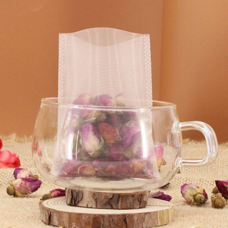 尼龙热封 6*8cm泡茶袋 茶叶过滤袋可手压式封口 过滤袋热封袋
