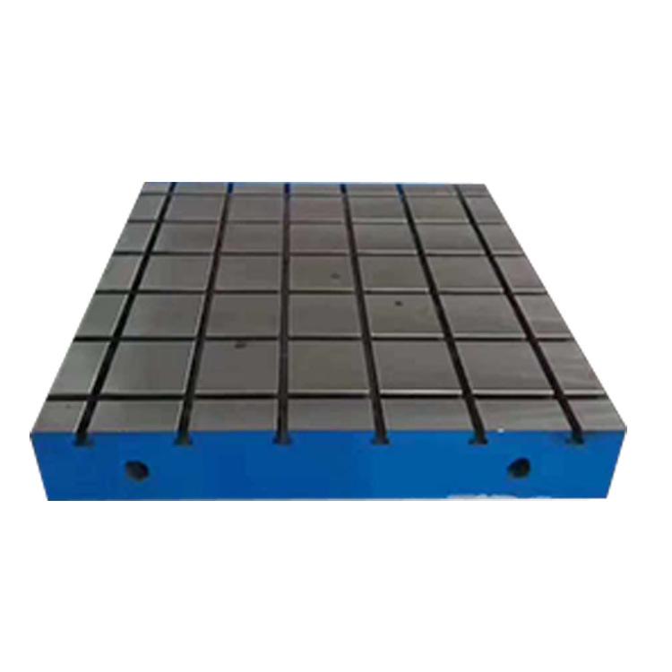 新航现货销售 T型槽铸铁平板检验量具 划线平板测量划线平台铸铁工作台