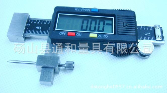 供应深度尺数显面差尺0-30mm/高低测量仪卡尺 +-15mm