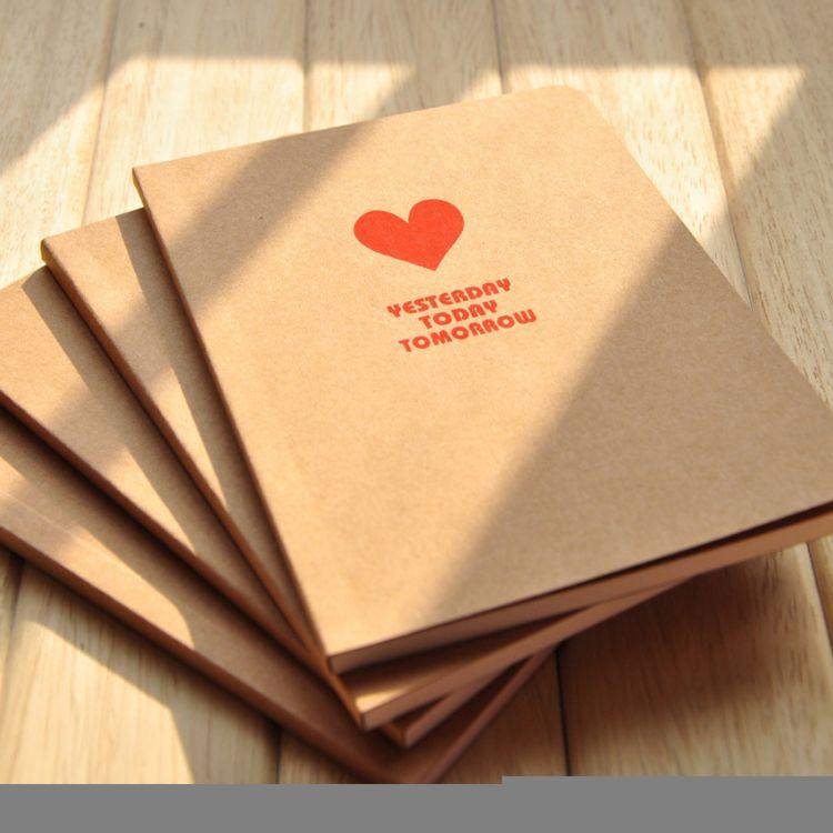 记录本印刷个性日记本定做定制笔记本创意记事本定制牛皮纸笔记本