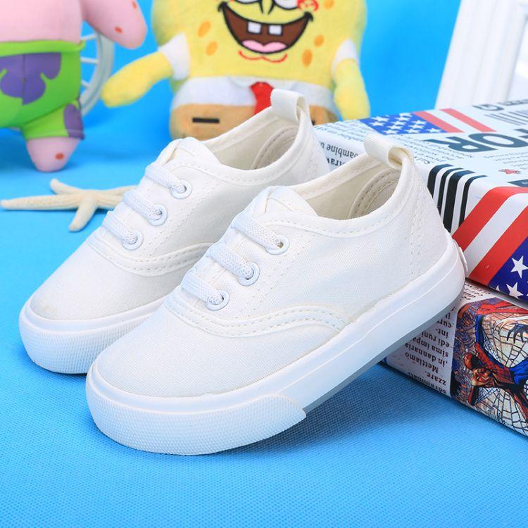 厂家直销时尚板鞋批发软底宝宝鞋韩版低帮童鞋一件代发