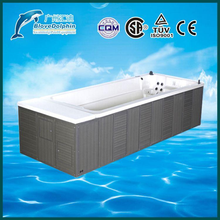 蓝海豚按摩浴缸设备 EP-38无边际游泳池 水疗按摩浴缸设备 厂家