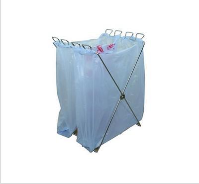 出口韩国 户外用垃圾袋支架 杂物挂钩收纳架 工厂可定做