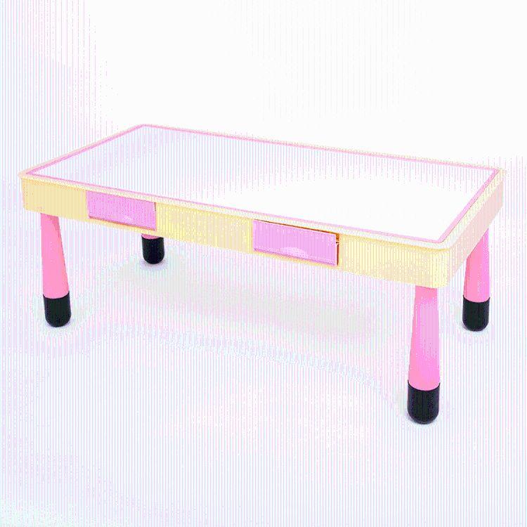 积木桌 幼儿园益智教学玩具宝宝智力开发玩具大颗粒创意积木桌