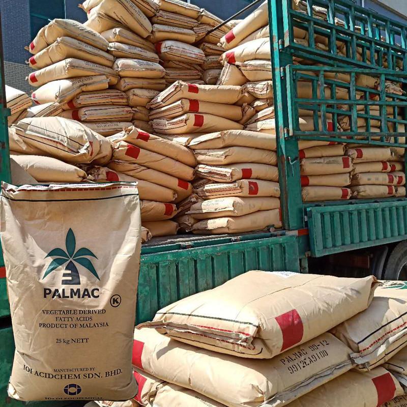 马来西亚椰树月桂酸十二烷酸十二酸 25公斤一袋月桂酸