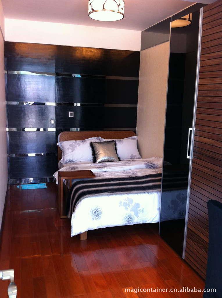 异空间-集装箱-40英尺套房集装箱公寓移动房屋单体箱装配式建筑厂家定制
