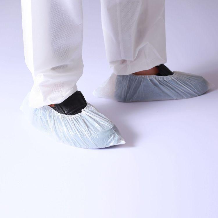 优惠PE一次性鞋套 透明鞋套 白色鞋套 居家 环保 卫生 方便