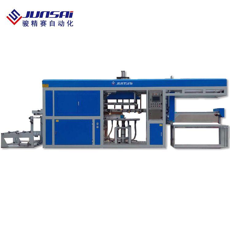 山东淄博PVC吸塑包装生产机器 ACF710吸塑成型机骏精赛厂家