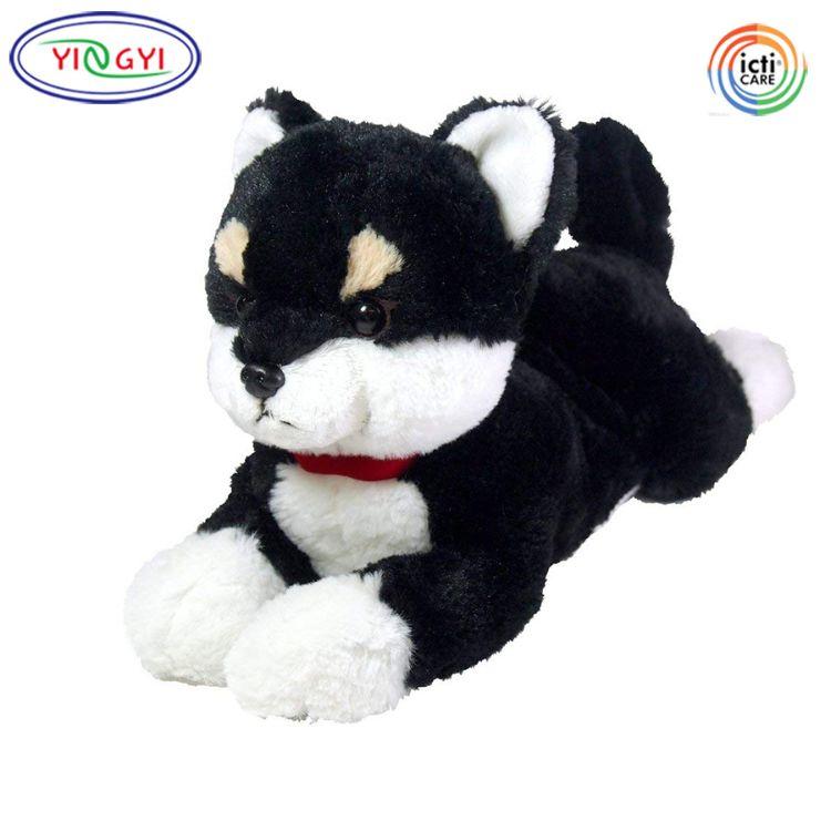 柴犬公仔趴趴狗毛绒玩具狗狗布娃娃 创意情人节儿童礼品