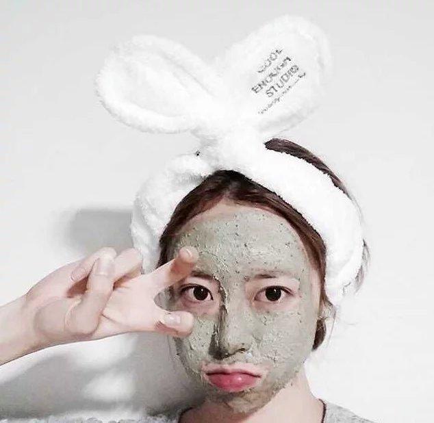 韩国韩剧她很漂亮高俊熙同款发带刺绣韩版白色绑发软绒布发箍批发