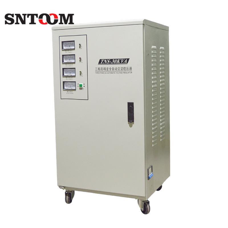 特价SVC工厂设备三相稳压电源TNS-30KVA全自动交流稳压器电源6包