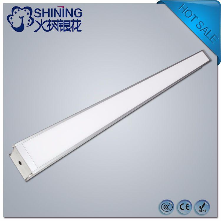 跨境商品线条灯 办公照明 简约铝材吊线灯长条1200 led长条灯
