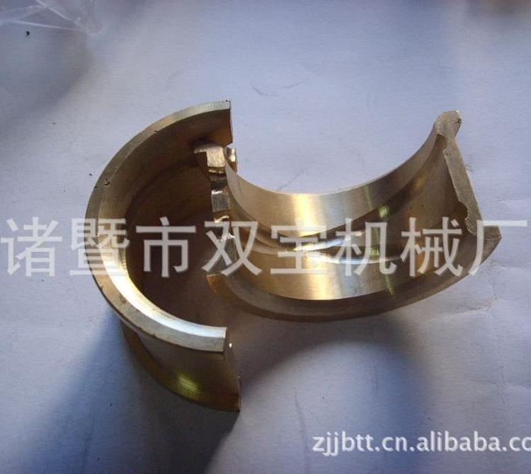 供应铜轴瓦 机械配件耐磨铜套轴瓦 小型轴类铜套轴瓦