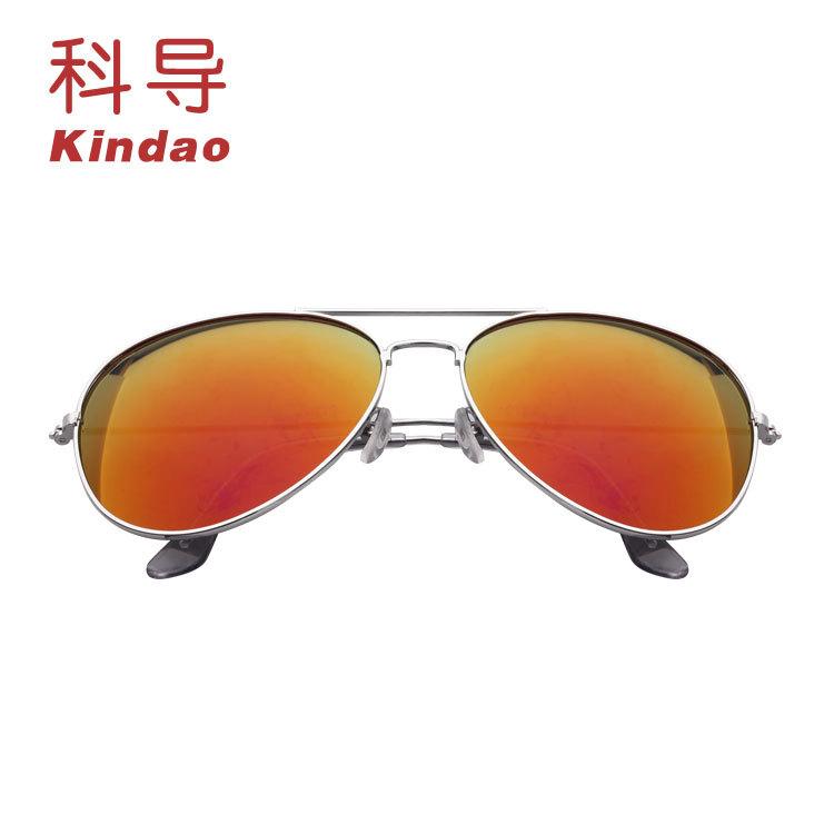 3026太阳男女通款蛤蟆镜 金属墨镜 偏光镜图样贴标价格定制