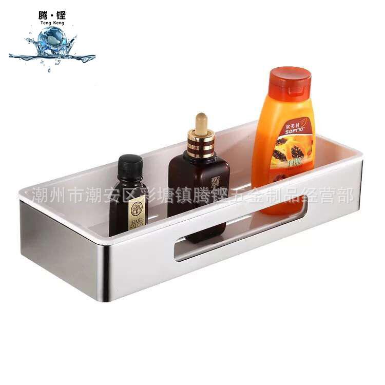 304不锈钢卫浴五金挂件置物架卫生间扇形转角架浴室收纳架三角架