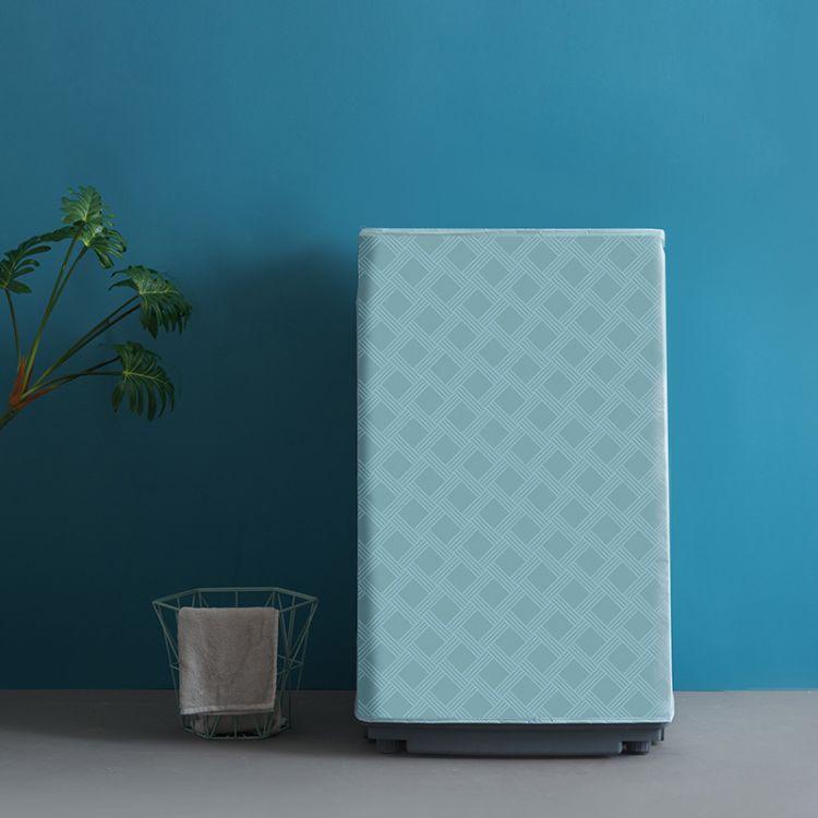 自主设计 PEVA洗衣机防尘罩 防晒防水滚筒波轮洗衣机套罩 196g