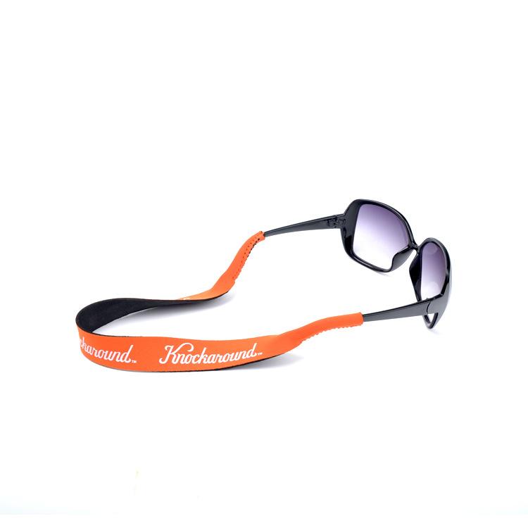 SBR潜水料眼镜绳加工定制 防滑防掉游泳滑雪运动眼镜带挂绳