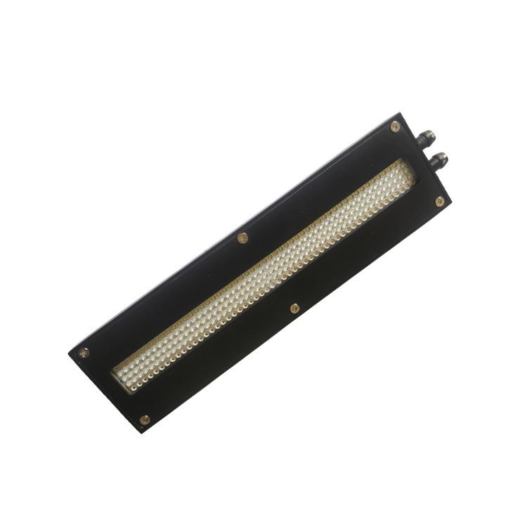 供应uv设备改装汞灯流水线 led蓝光冷光源定制木器底漆隧道流水线