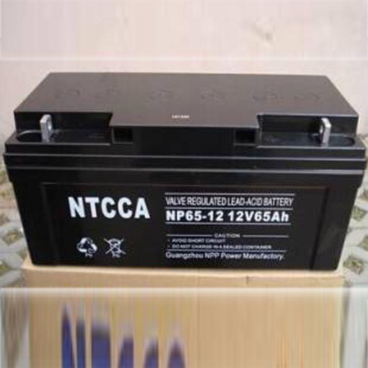 NTCCA/恩科蓄电池NP55-12阀控密封式免维护电池12V55AH现货直销