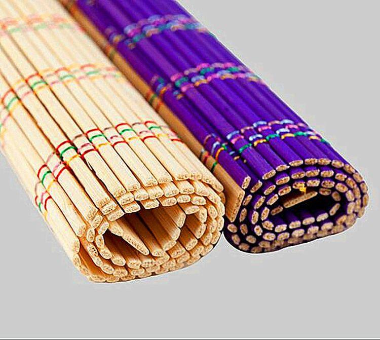 厂家直销 竹子笔帘 卷毛笔袋子 毛笔笔帘
