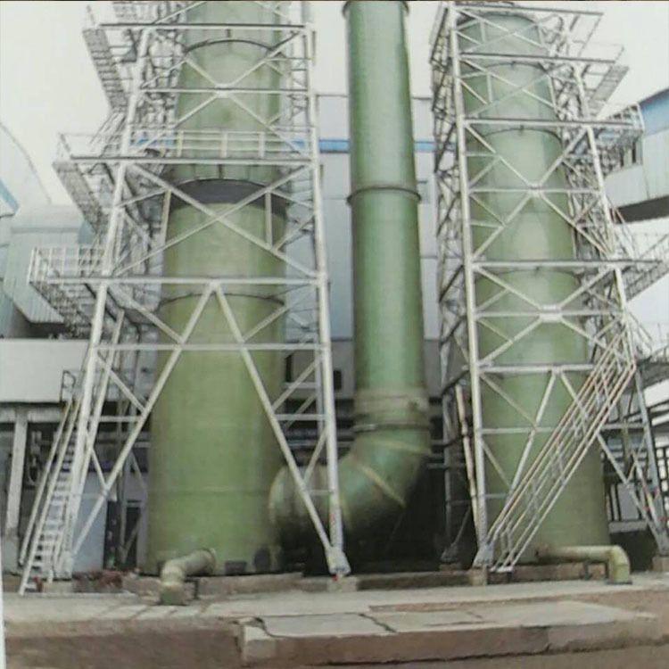 厂家直销化工燃煤锅炉炉窑烟气除尘脱硫工程除尘脱硫塔一体式