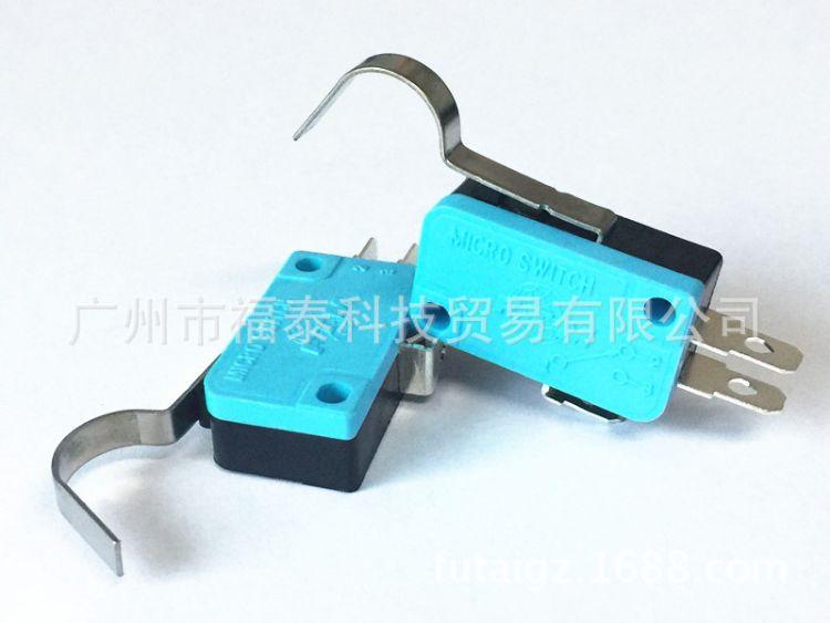供应台湾FTM 微动开关 MN3-0304D大弯柄 KW11行程微形开关