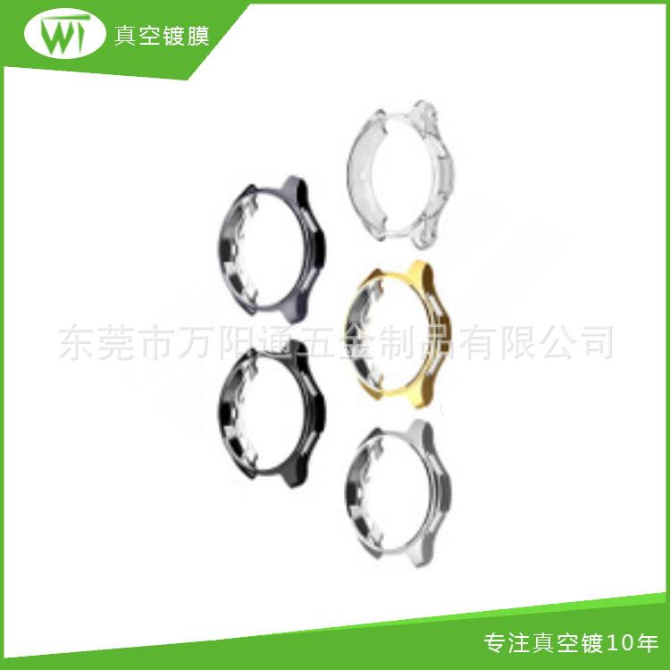 定制款 跨境高档固体男士表壳18k电镀 品质款不锈钢表壳14k真空镀
