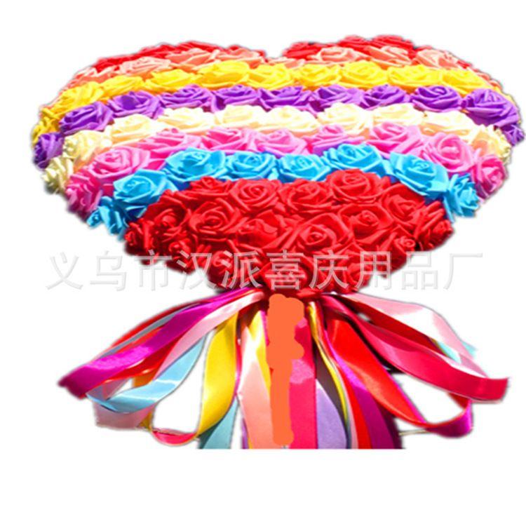 韩式车头花婚礼婚车拉花装饰用品车头PE花特价公主款厂家直销店