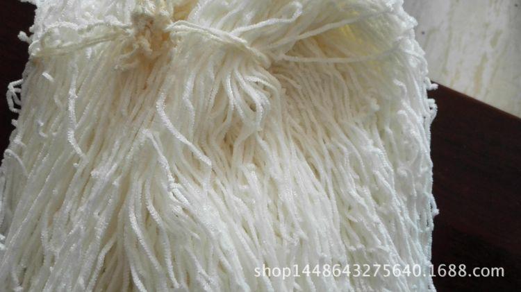 5支仿腈纶,纱条蓬松柔软,价格优势明显,有真腈纶的风格。