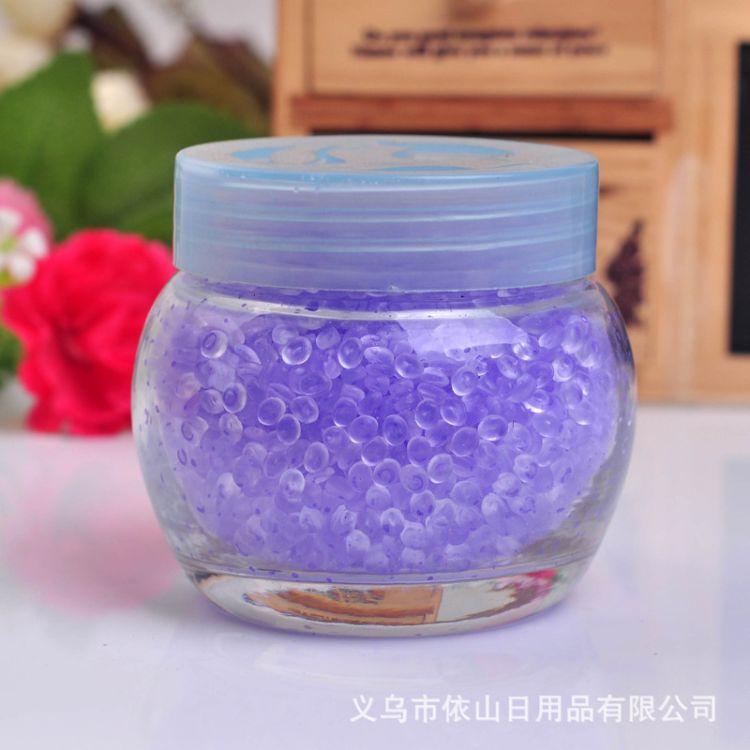 纱袋水晶香珠 香珠香料批发 空气清新剂 固体香料 樱花味香珠