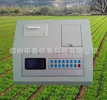 拓普ZT-03C型便携式有机肥测试仪复合肥检测仪化肥速测仪肥料速测