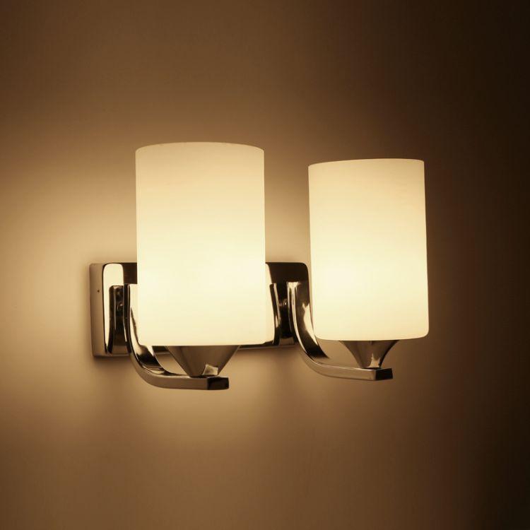 壁灯现代简约LED床头卧室创意欧式美式客厅实木过道阳台酒店灯具