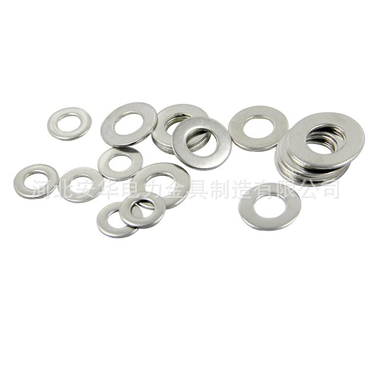 安华生产供应平垫圈 膨胀栓专用平垫圈 国标热镀锌金属平垫片 现货