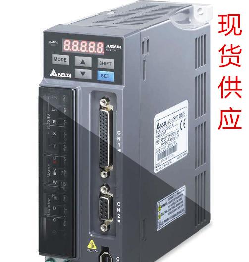 全新台达B2系列伺服系统驱动器电机ASD-B2-1021-B+ECMA-E21310RS