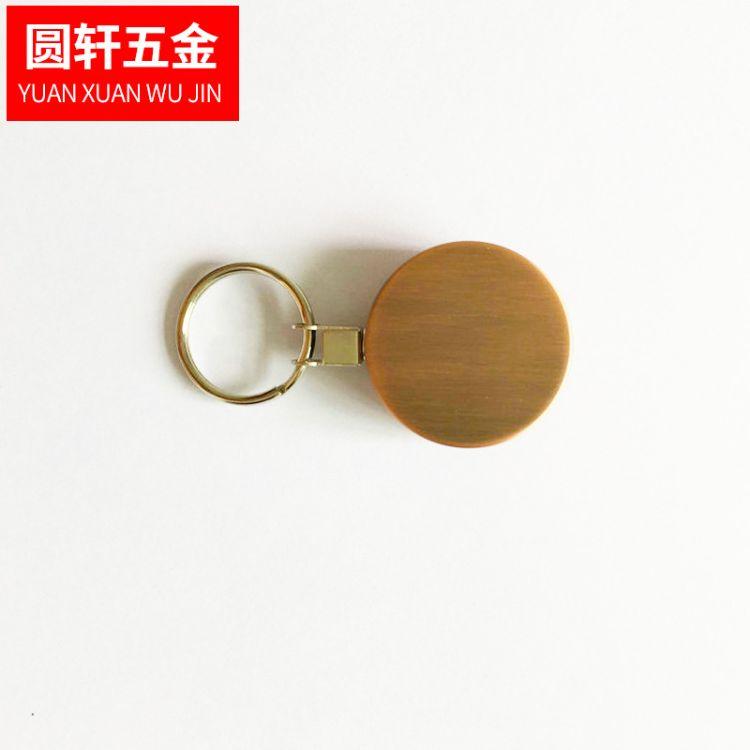 供应全金属易拉扣 高回弹伸缩钢丝绳钥匙环