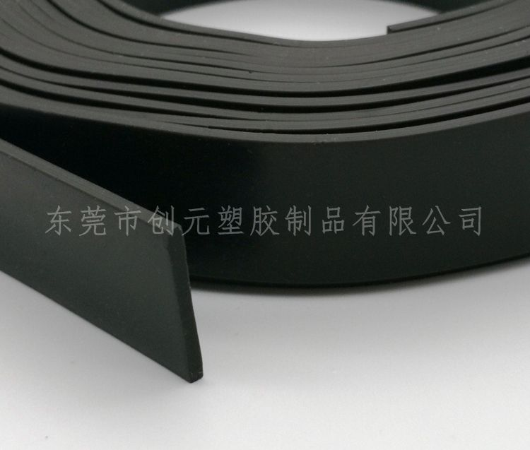硅胶扁条 减震垫缓冲橡胶扁条 密封橡胶条实心条
