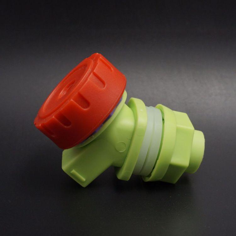 塑料饮用水桶水龙头 旋钮式泡酒瓶水嘴 车载pc方桶pe平底水桶龙头