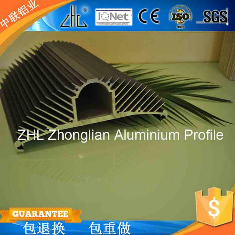 大量生产 灯具梳子型 高密齿电子散热器铝材 铝制散热器