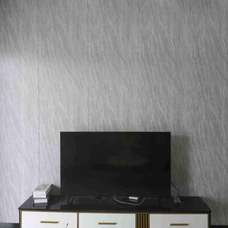 厂家定制客厅背景墙装修仿大理石纹集成墙板 隔热保温防水装饰板  集成墙板