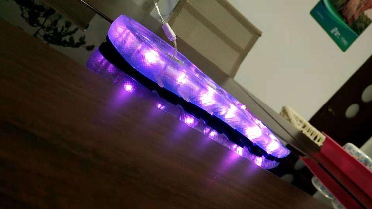三线软线LED鞋灯混彩鞋灯七彩鞋灯