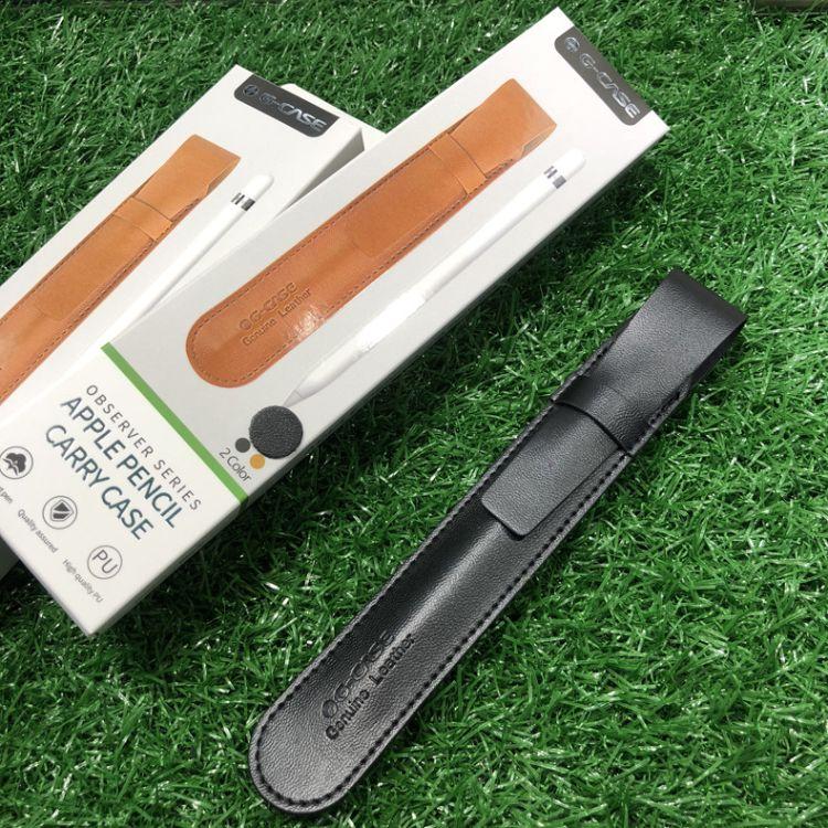 G-CASE适用苹果apple pencil笔套真皮ipad pro手写笔套商务保护套